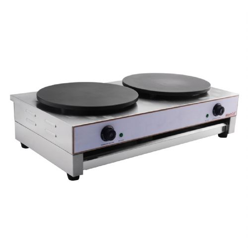 Crepe Maker 400mm x 2 Twin Crepe Tray - CM-2